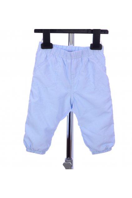 Kalhoty modré C&A s podšívkou vel. 68