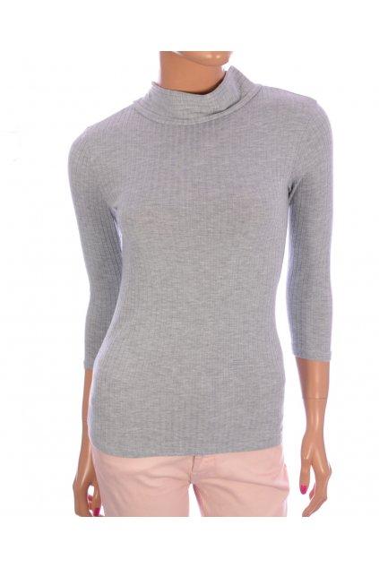 Tričko dlouhý rukáv TallyWeijl vel XS šedé