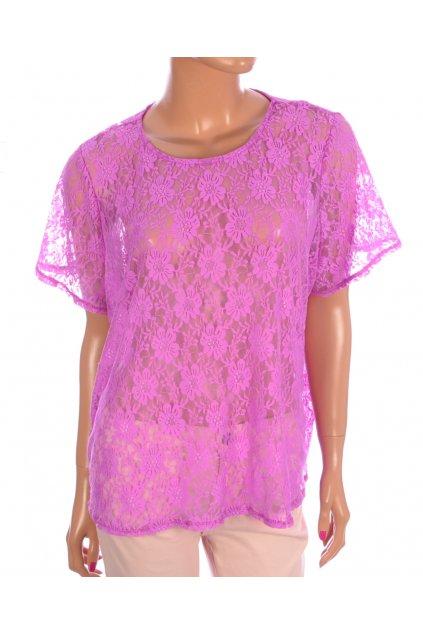 Tričko George vel XL růžové