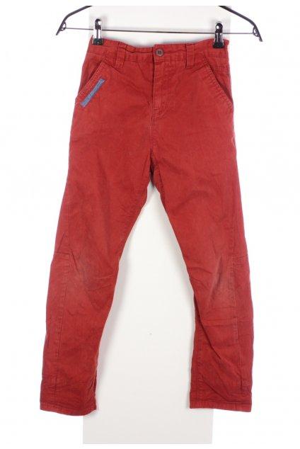 Kalhoty Next cihlové oranžové vel. 9 let