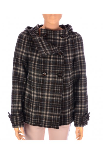 Kabát karo krátky Zara vel. M