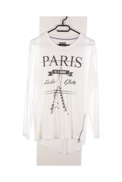 Tričko NewYorker S bílé se zipy a potiskem