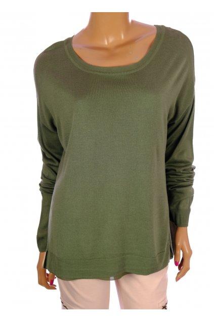 Svetr Divided H&M vel M khaki zelený