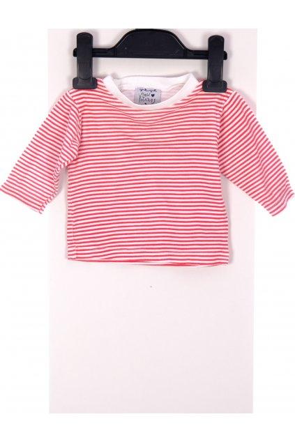 Tričko New Potators bíločervené pruhované vel. 2 - 3m / 62