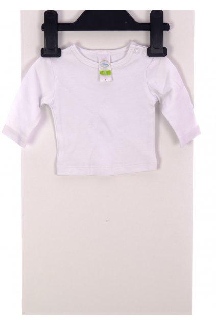 Tričko bílé C&A vel. 50 / 0-1m