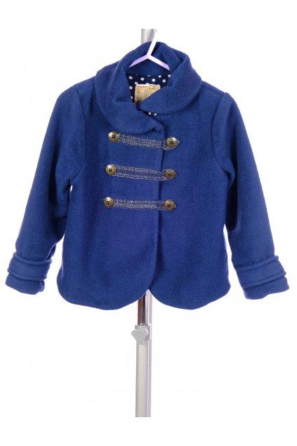 Kabátek flísový Next tmavě modrý vel. 92 - 98 / 2 - 3 roky