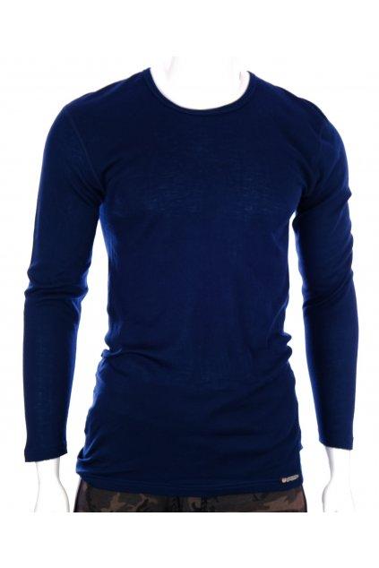 Tričko Comazo funkční thermo elastické tmavě modré vel. XL-XXL