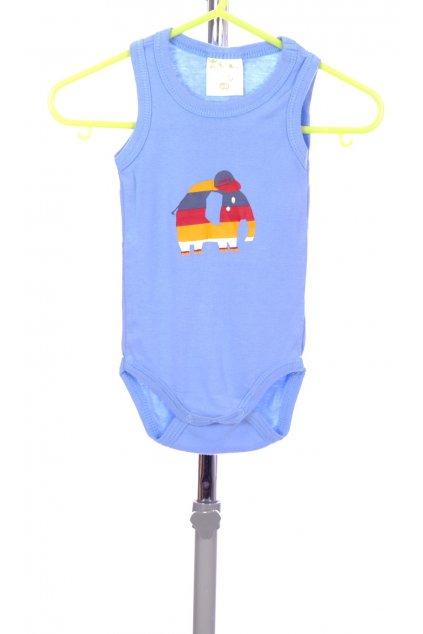Tričko My Little Bear bodýčko modré se slonem vel. 62 - 68 / 2 - 6 m