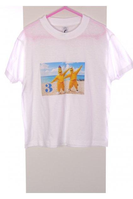 Tričko Regent kids bílé s obrázkem vel. 110 - 116 / 4 - 6 r
