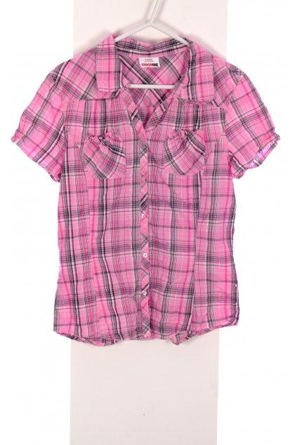 Košile Crash One růžová károvaná vel. 170 - 176 / 14 - 16 r