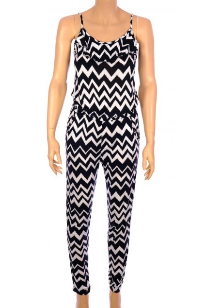 Šaty H&M vel S černobílý overal