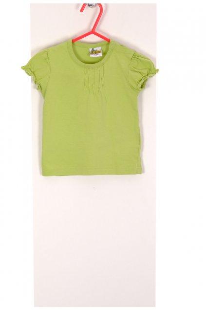 Tričko Papagino zelené vel 74-80/6-12 měsíců