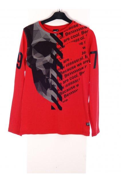 Tričko chlapecké Coolcat červené vel 134/140/ 8-10 let