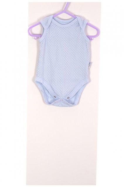 Body dívčí Baby Jem modré s puntíky vel  56-62/1-3 měsíců