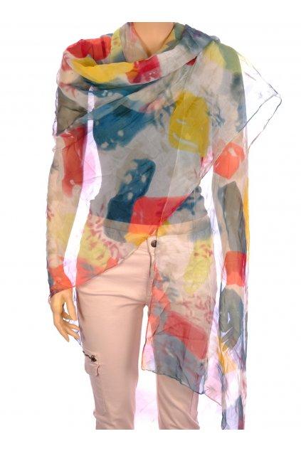 Šátek barevný vzor