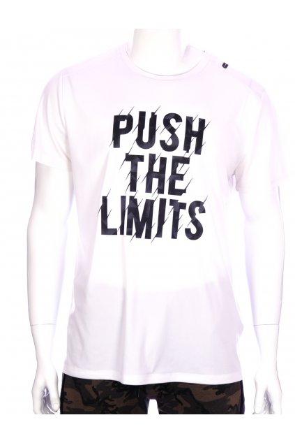 Tričko Crivit sportovní bílé s nápisy vel XL