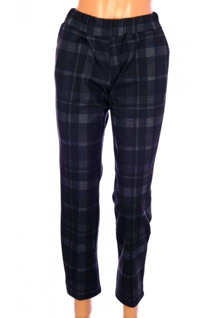 Kalhoty černé karované vel S