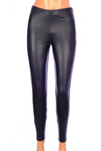 Kalhoty Boohoo černé lesklé vel S