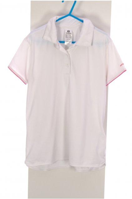 Tričko Artengo sportovní bílé 151-160/12-14let