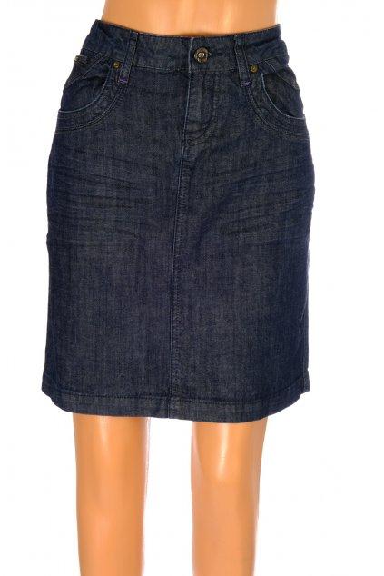 Sukně riflová Gracia Jeans tmavě modrá vel M