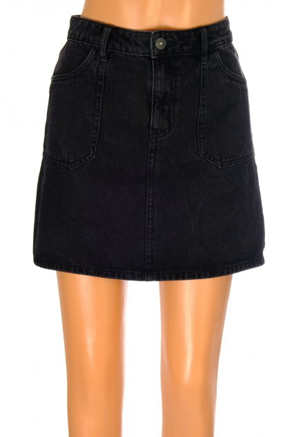 Sukně Pimkie riflová černá mini vel S