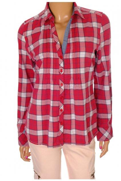 Košile s. Oliver karo červená vel S