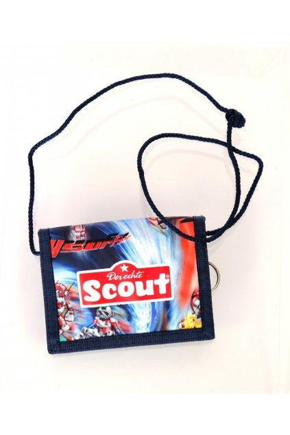 Peněženka Derechte Scout s kosmonauty na krk