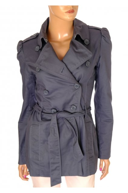 Kabátek Oasis šedý vel XS vada