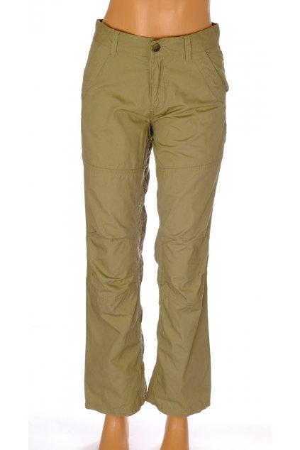 Kalhoty Pocopiano dětské khaki vel 152/11-12 let
