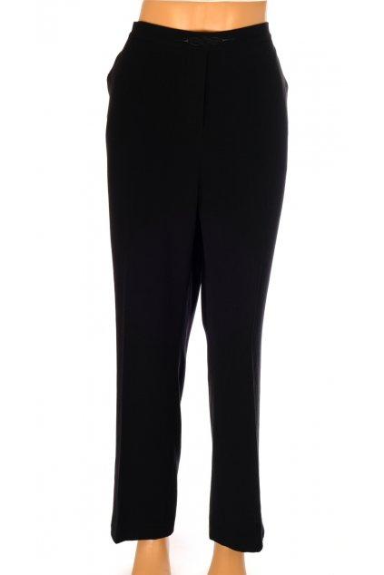 Kalhoty Kingfield černé v pase výšivka a guma vel L