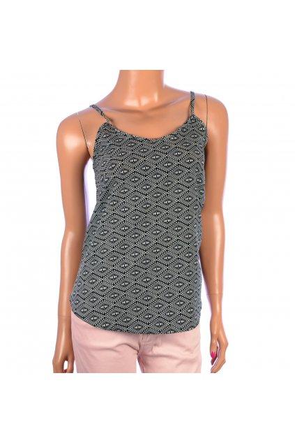 Tričko top Select vzorované vel. 34 / uk 6 / XS