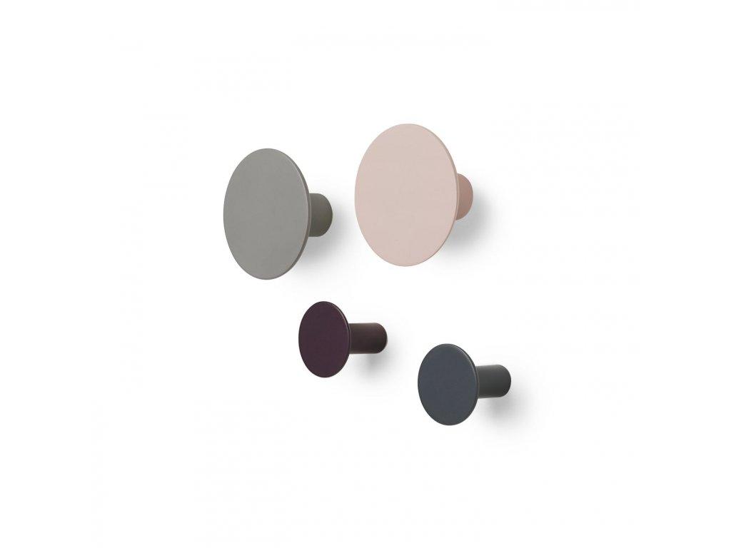 Háčky na zeď Blomus PONTO set/4ks | mix barev