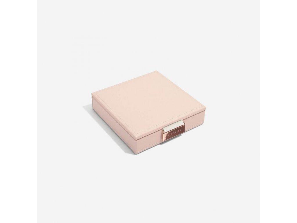 Šperkovnice Stackers Blush Charm Box | růžová