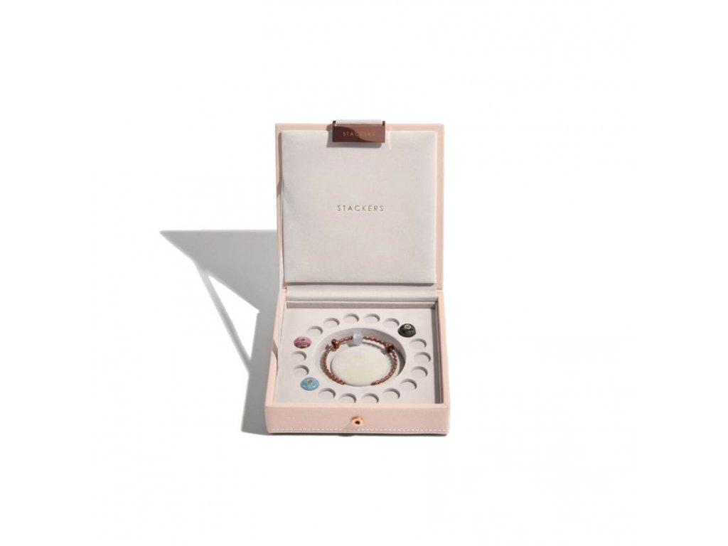 Šperkovnice Stackers Blush Charm Box   růžová