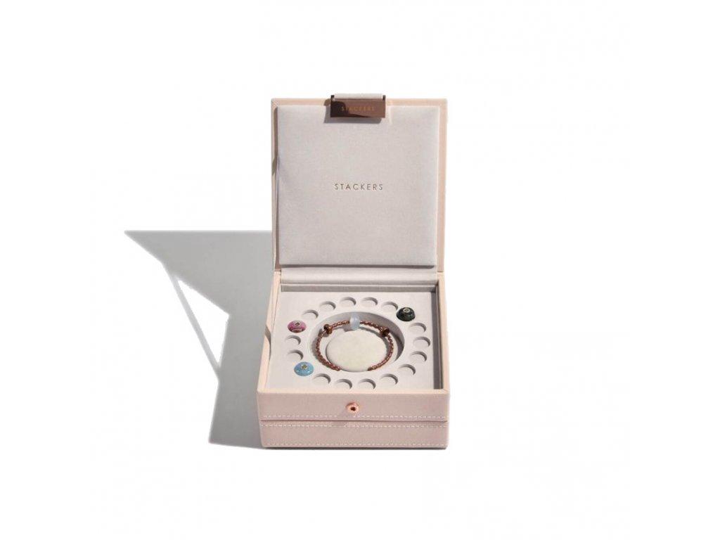 Šperkovnice Stackers Blush Charm | růžová
