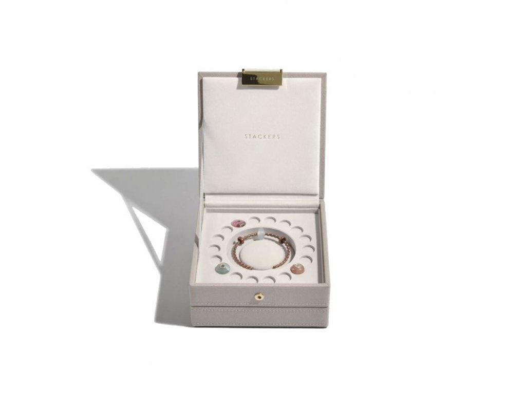 Šperkovnice Stackers Taupe Charm | šedobéžová