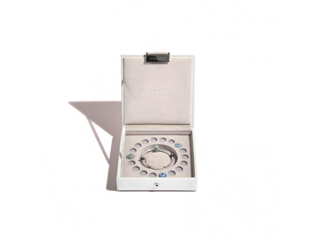 Šperkovnice Stackers White Charm Box   bílá