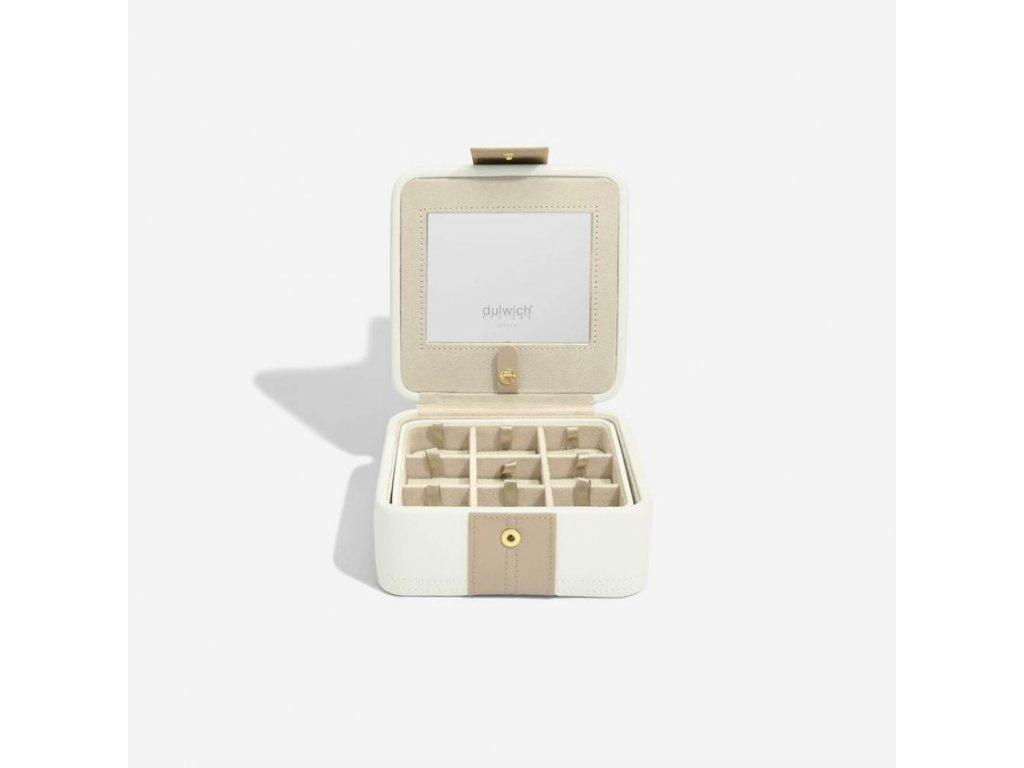 Šperkovnice Dulwich Belgravia Earring Box | krémová