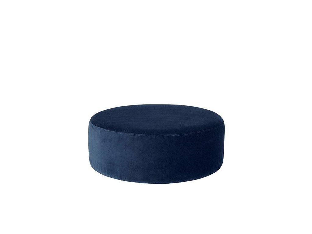 Sedací vak Broste Wind 82 cm | modrý