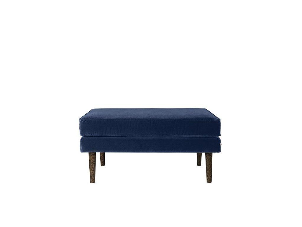 Podnožka Broste Wind 58 cm | modrá