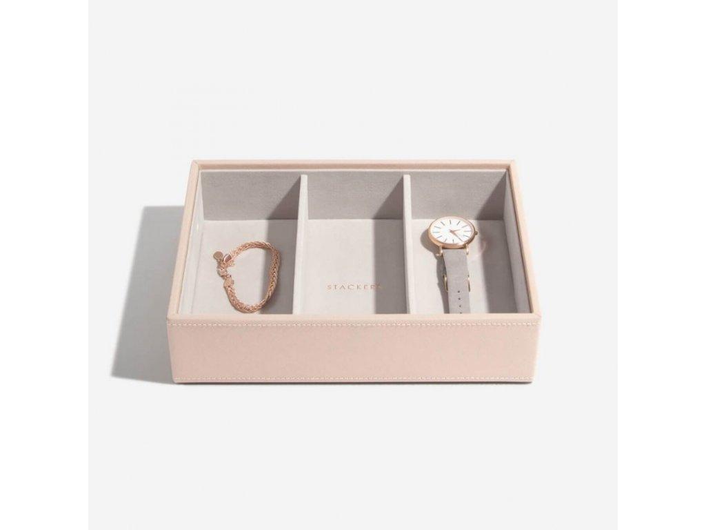 Box na šperky Stackers Blush Deep Watch/Accessories | růžová