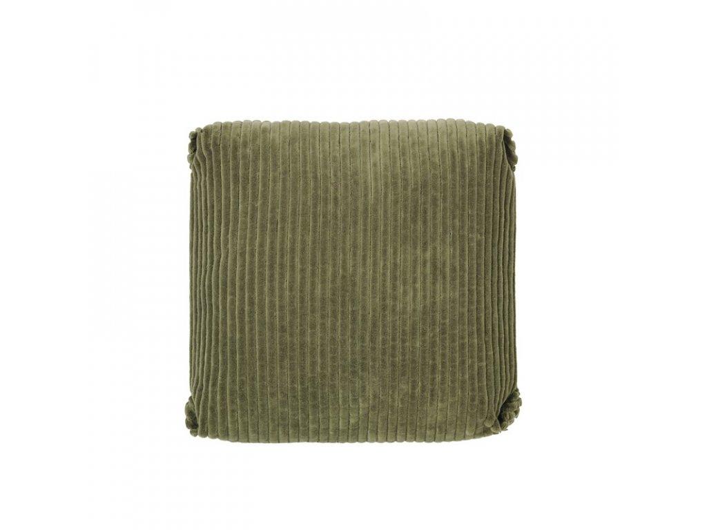 Povlak na polštář Broste Thor 50x50 cm | zelený