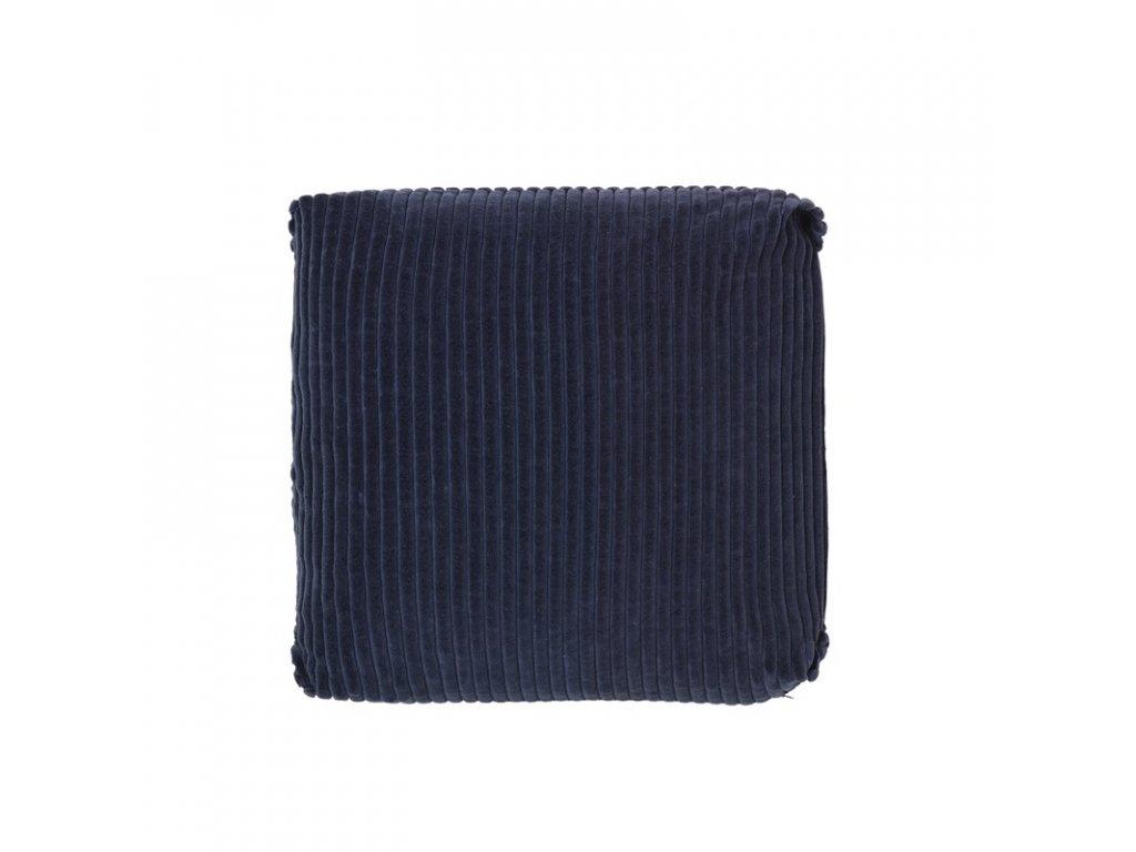 Povlak na polštář Broste Thor 50x50 cm | modrý