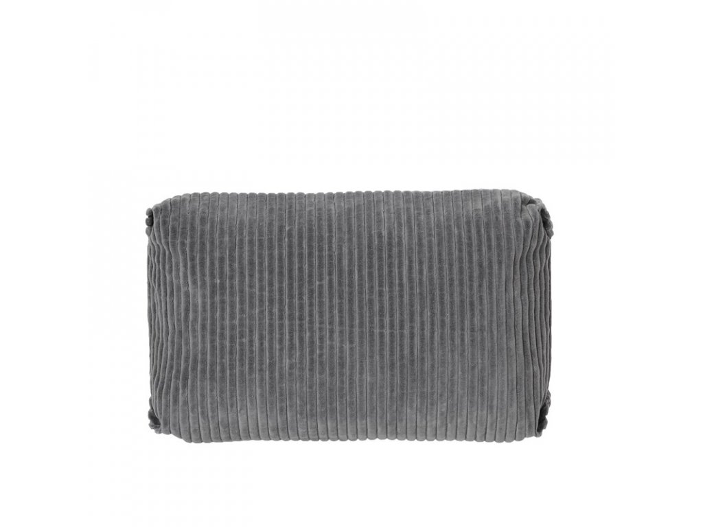 Povlak na polštář Broste Thor 60x40 cm | šedý