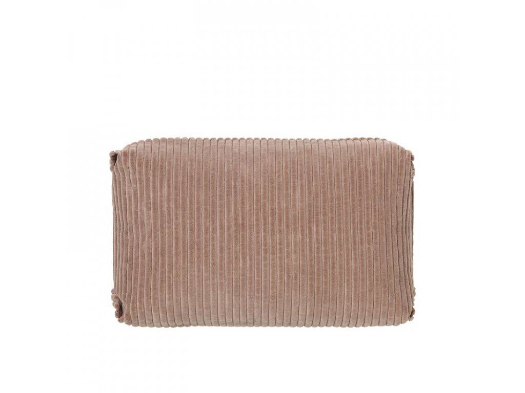 Povlak na polštář Broste Thor 60x40 cm | růžový
