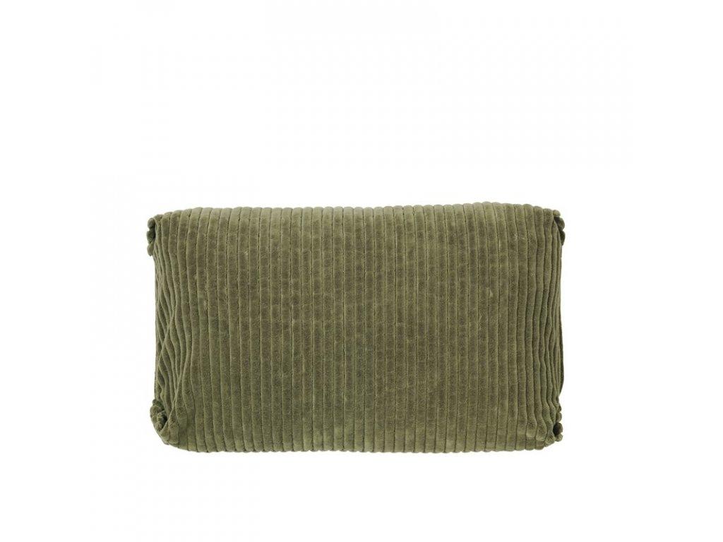 Povlak na polštář Broste Thor 60x40 cm | zelený