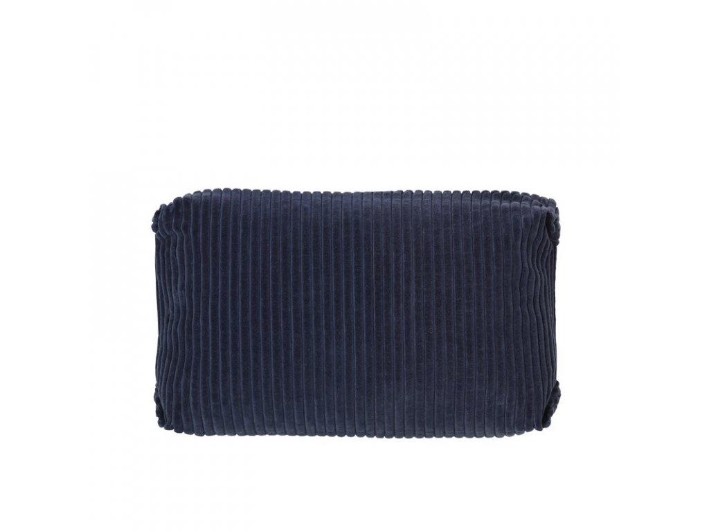 Povlak na polštář Broste Thor 60x40 cm | modrý
