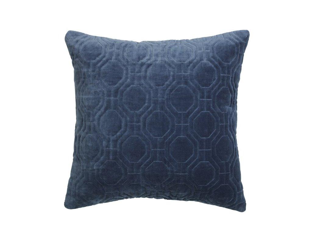 Povlak na polštář Broste Alva 50x50 cm | modrý
