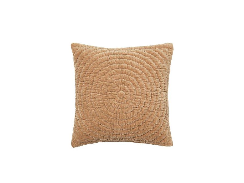 Povlak na polštář Broste Quilt Ring 40x40 cm | žlutý