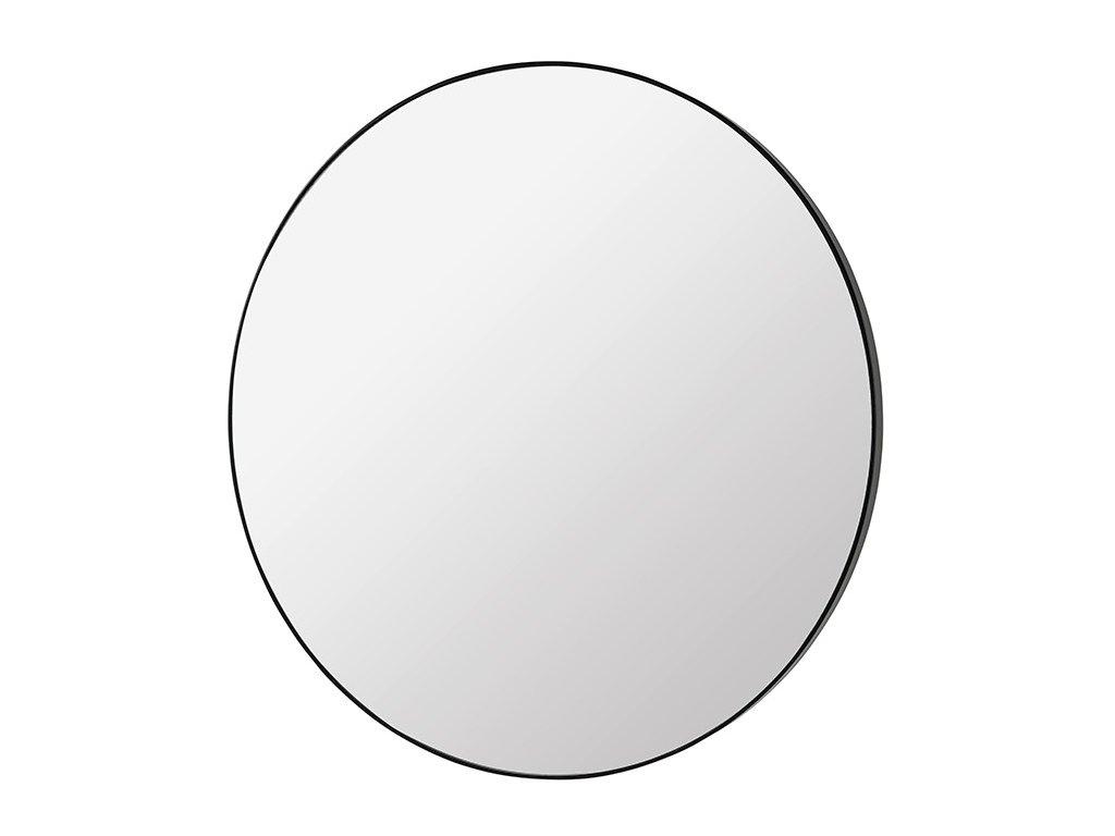 Kulaté zrcadlo Broste Complete 110 cm | černé